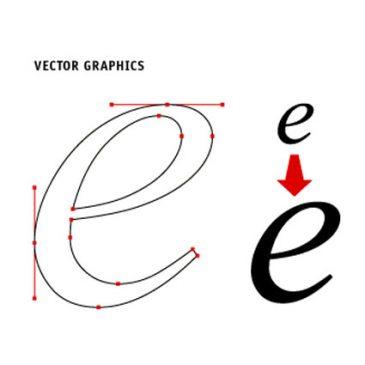 Отличия векторного и растрового изображения
