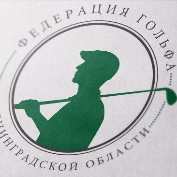создание логотипа для гольфклуба