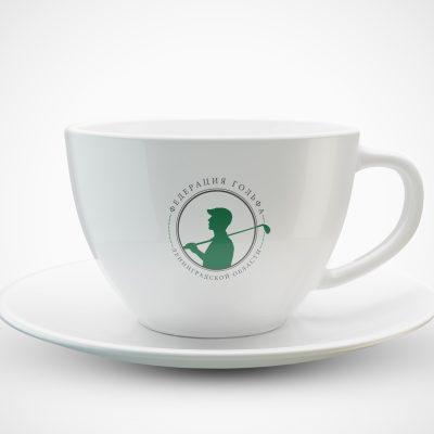 чашка с нанесением логотипа