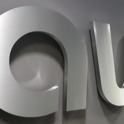объемные буквы из металла