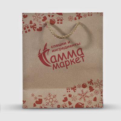 крафт пакет Гамма маркет
