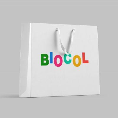 пакет с логотипом биокол